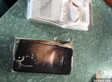 iPhone 7 exploding?