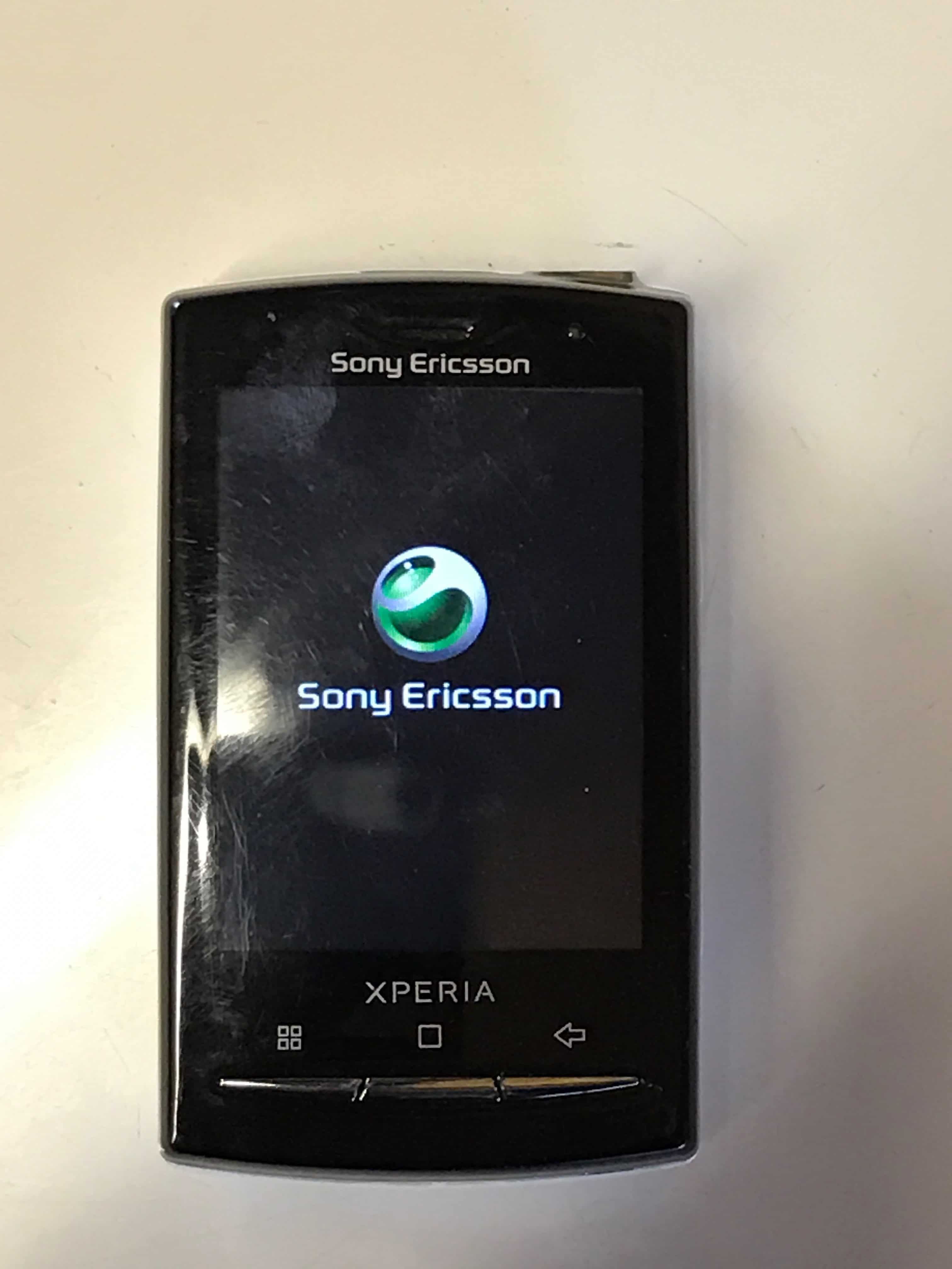 Sony X10 Mini Pro Mobile 123 border=