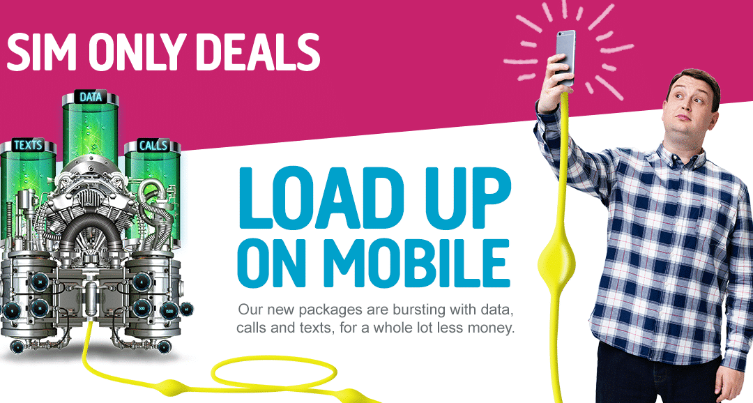 Plusnet Sim Only offer – 3GB for £7.50 – 1 month contract