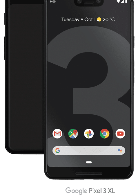 Pre-order the Google Pixel 3  on Three