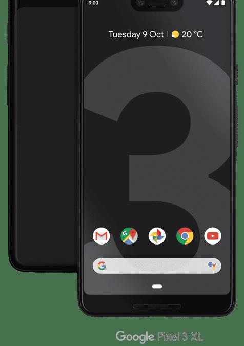 Pre-order the Google Pixel 3  on Three